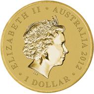 Australia - 1 AUD - Aluminium-Bronze - 13.80 g - 30.60 mm - Mintage: Unlimited.