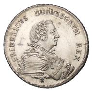 Die große Münzreform - Erster Taler der von Johann Philipp Grauman 1750 ins Werk gesetzten Münzreform aus der reorganisierten Münzstätte Berlin (A). Der Name
