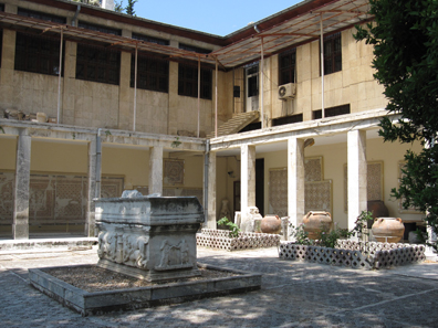 Inner court of the museum of Antioch. Photo: KW.