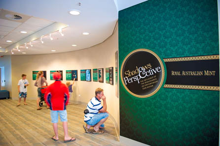 A glance into the display. Photo: Royal Australian Mint.