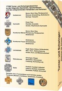 Peter Schildknecht, Turner- und Schwinger-Abzeichen der Schweiz, Eigenverlag. Zürich 2011. 400 S., durchgängig farbige Abbildungen. Kartoniert. Klebebindung. 21,4 x 30,3 cm. Mit Beilage 52 S., durchgängig farbige Abbildungen. ISBN 3-905712-10-5. 80,00 Euro.