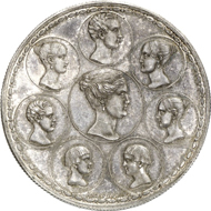 1621: RUSSLAND. Nikolaus I. (1825-1855). 1 1/2 Rubel (10 Zlotych,
