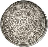 619: LEININGEN-DAGSBURG. Johann Ludwig (1593-1625). Dicker doppelter Reichstaler 1623. Dav. 6877. Unikum, vz. Taxe: 100.000 Euro, Zuschlag: 110.000 Euro.