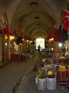 Im Bazar. Foto: UK.