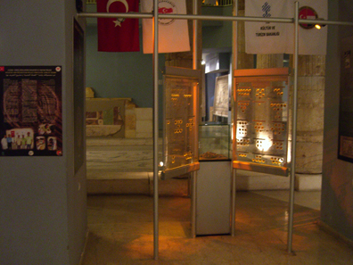 Die Münzausstellung von Gaziantep. Foto: UK.
