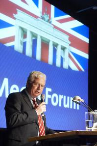 Hans-Henning Göhrum eröffnet am Freitag das Media Forum.