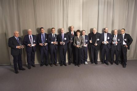 Die Sieger im Wettbewerb um die Coin of the Year.