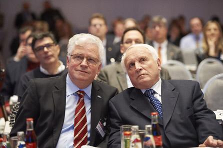 Hans-Henning Göhrum und Albert Beck.