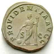 223: Gordianus I. Sestertius. Starting price: 2.500 CHF. Hammer price: 5.750 CHF.