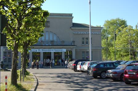 Nur noch 2012 findet die Münzenbörse Hannover in der Niedersachsenhalle statt.