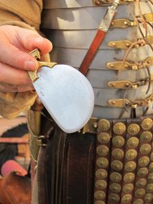 Römisches Rasiermesser. Foto: UK.
