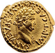 Titus as Caesar (79-81 AD). AV aureus (18 mm, 7.49 g, 12 h). Undated c. AD 70, Judaea or Antioch. IMP T CAESAR VESPASIANVS. Estimate: $475,000. Realized: $956,000.