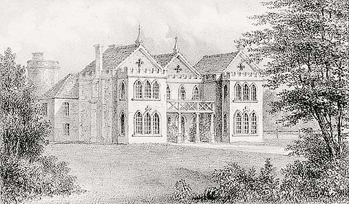 Whaddon Manor, Bucks, home of WS Lowndes. Picture source: Google Image/Selby-Lowndes.