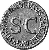 TIBERIUS, 14-37 AD. As in the name of Drusus, 22-23. PIETAS Diademed, veiled female bust r. Rev. DRVSVS CAESAR TI AVGVSTI F TR POT ITER around SC 15,12 g. BN 48, 74. BMC 133, 98. RIC 97, 43. C. 1.