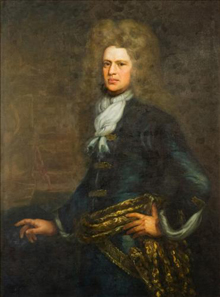 Portrait of Admiral Sir John Balchin, commander of HMS Victory during her final tragic voyage in October 1744. Source: Odyssey Marine Exploration, Inc.