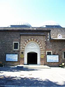 Eingang zum Museum der anatolischen Zivilisationen. Foto: KW.