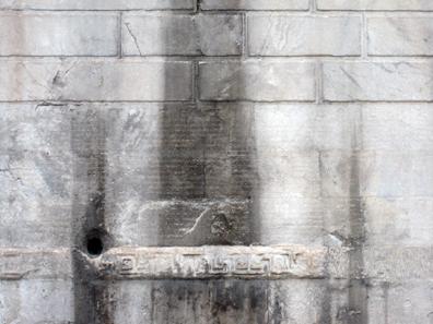 Von weitem kann man einen Blick auf die berühmte Inschrift werfen. Foto: KW.