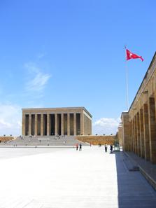 Grabmal des Atatürk. Foto: UK.