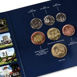 The circulation coin set.
