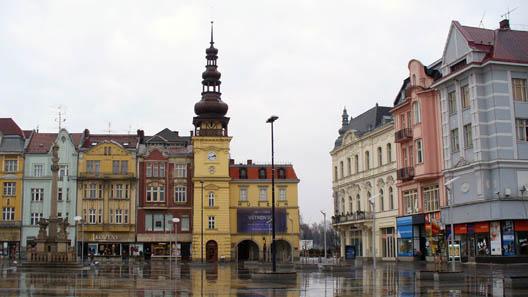 Ostrava's marketplace. Photo: Pudelek / Wikipedia.