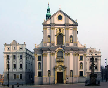 Church of St Adalbert in Opava. Photo Pudelek / Wikipedia.