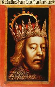 Rudolf IV. von Österreich, anonymes Porträt. Erzbischöflichen Dom- und Diözesanmuseum, Wien. Quelle: Wikipedia.