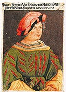 Marcus Sitticus als Condottiere.