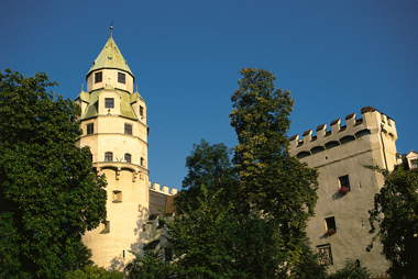 Der Münzerturm Hall.