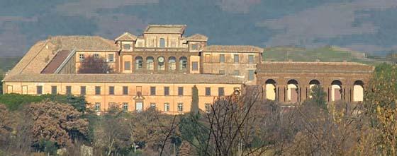 Die Villa Mondragone.