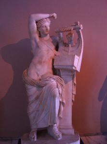 Apollon Kitharoedos aus Milet / heute Türkei. Foto: KW.