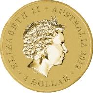 Australia / 1 AUD / Aluminium Bronze / 13.80 g / 30.60 mm / Design: Wade Robinson / Mintage: Unlimited.