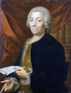 Philippe Sauvan (1697/1698-1789), Porträt Esprit Calvets, um 1778-1780. Quelle: Wikipedia.