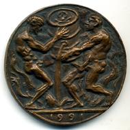 Golfkrieg, 1991, Bronze.
