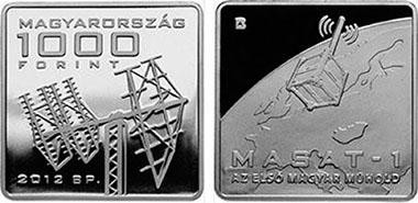 Hungary / 1,000 HUF / Cupro-Nickel / 28.43 x 28.43 mm / 14.00 g / Design: Áron Bohus / Mintage: 5,000 (BU), 5,000 (Proof).