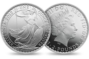 Great Britain / 2 GBP / 1oz 958 Silver / 32.45 g / 40.00 mm / Design: Ian Rank-Broadley (obverse), Philip Nathan (reverse) / Mintage: 5,500 max.