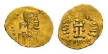 Byzanz, Constans II, Tremissis (1,43 g).