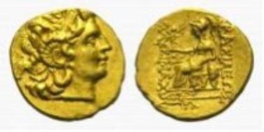 Thrakische Könige, Lysimachos, AV-Stater.