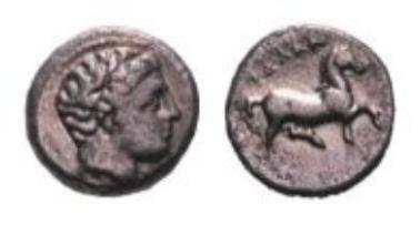 Thessalien, Diobol (1,12 g).