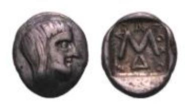 Thrakische Könige, Saratokos (0,89 g).