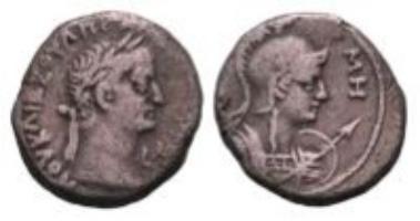 Roman provinces, Egypt, Galba, billon-tetradrachm (12.38 g).