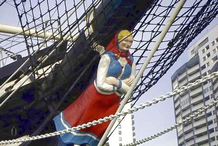 Galionsfigur der Seute Deern. Foto: Uwe Horst Friese, Bremerhaven / Wikipedia.