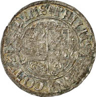 Solms-Hohensolms. Kipper-12-kreuzer (dreibätzner) 1620, Niederweisel, with title of Ferdinand II. 3.74 g. Joseph 218 d. From auction Künker 212 (June 19, 2012), 4049. Estimate: 200 euros.