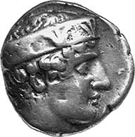 OLYMPIA (Elis). Stater, 420-384 BC. Head of Hera r., wearing tall stephanos showing palmettes and tendrils. 12,08 g. Seltman 81, 280 (same die).