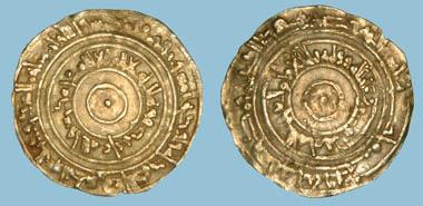 Lot 118: FATIMID, Al-'Aziz (365-386h), Dinar, Makka 380h.