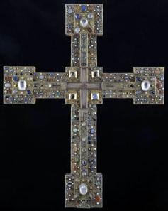 Adelheid-Kreuz, Oberrhein, Ende 11. Jahrhundert. © Gerfried Sitar, Benediktinerstift St. Paul im Lavanttal.