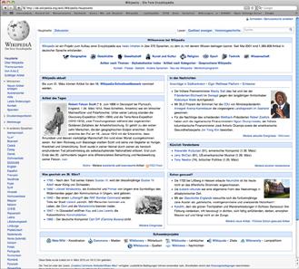 http://de.wikipedia.org/wiki/Wikipedia:Hauptseite