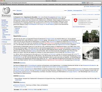 http://de.wikipedia.org/wiki/Swissmint