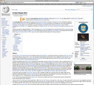 http://en.wikipedia.org/wiki/US_Mint