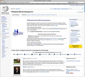 http://de.wikipedia.org/wiki/Wikipedia:Mentorenprogramm