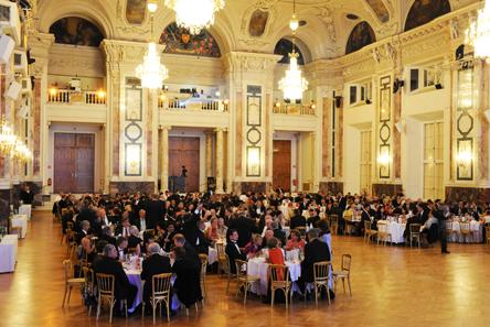 The ballroom.